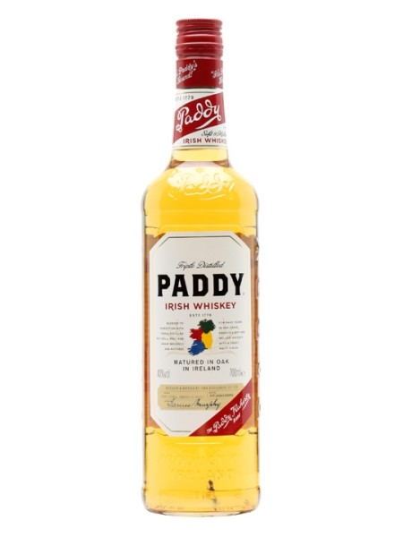Paddy Old Irish Whiskey 40% 70cl