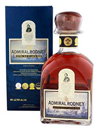 Admiral Rodney Extra Old St. Lucia Rum 40% 70cl