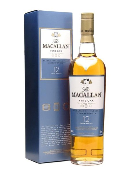 The Macallan 12 år Fine Oak 40% 70cl