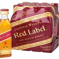 Johnnie Walker Red Label 40% 5cl (12 i karton)
