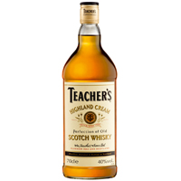 Teachers Highland Cream 40% 70cl (6 i karton)