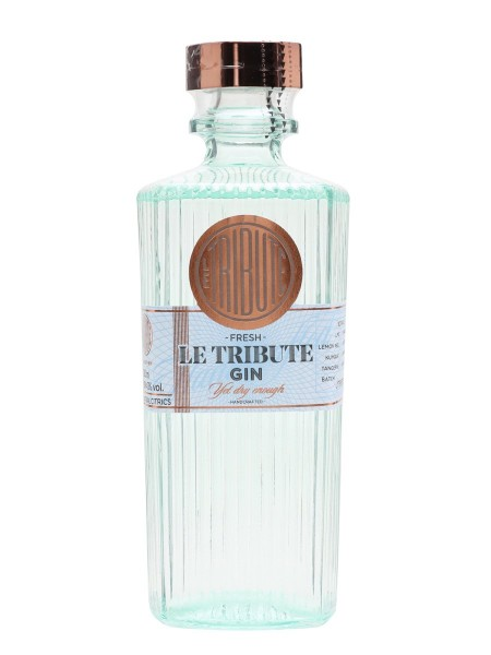 Le Tribute Gin 43% 70cl (6 i karton)