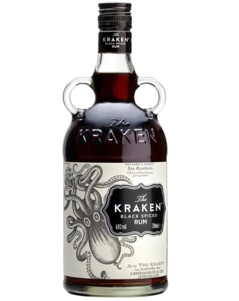 Kraken Black Spiced Rum 40% 70cl (6 i karton)