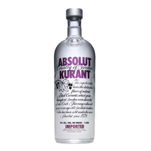 Absolut Kurant 40% 100cl (6 i karton)