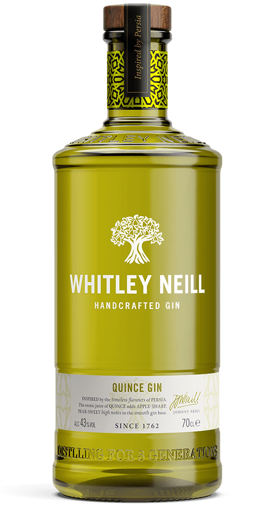 Whitley Neill Quince 70 cl 43% (6 i karton)