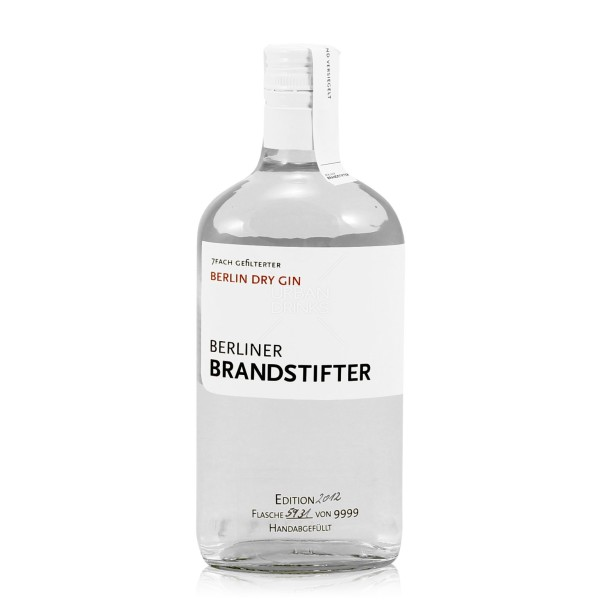 Berliner Brandstifter Gin 43,3% 70cl