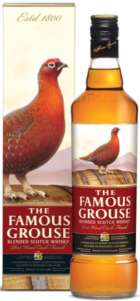Famous Grouse Port Wood Fin 40% 70cl