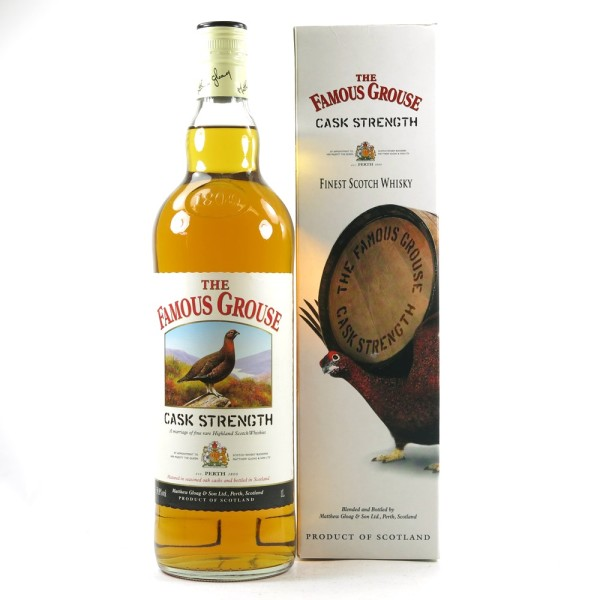 The Famous Grouse Cask Strengh 59,8% 100cl