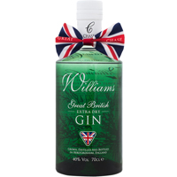 Williams Chase Extra Dry Gin 40% 70cl